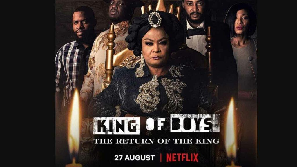 King of Boys 2 the Return of the King is one of the must watch latest Nigerian movies on Netflix in 2021